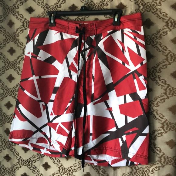 c4f251b378e Van Halen Board Shorts. M 5aa2e4e2daa8f6a467925d4f